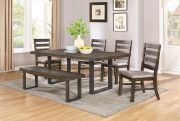 Murphy Rustic Metal and Wood 6 Pc. Set
