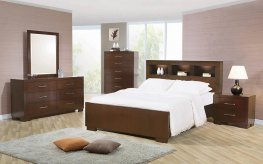Jessica Contemporary E. King Bed