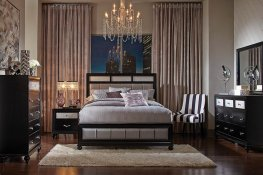 Barzini Transitional E. King Bed