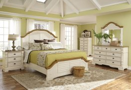 Oleta Cottage Buttermilk E. King Bed