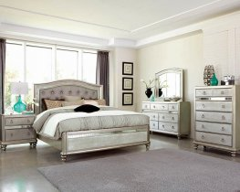 Bling Game Metallic Cal. King Bed