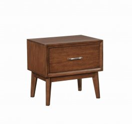 Banning Dark Mango One-Drawer Nightstand