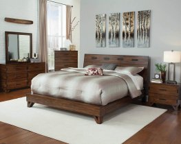 Yorkshire Amber and Coffee Bean Queen Bed