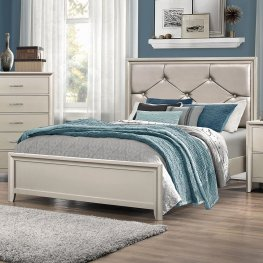 Lana Traditional Silver E. King Bed
