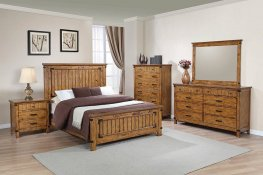 Brenner Rustic Honey E. King Bed