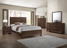Brandon Medium Brown E. King Bed