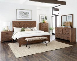 Reeves Mojave Brown Cal. King Bed
