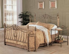 Sydney Antique Brushed Cal. King Bed