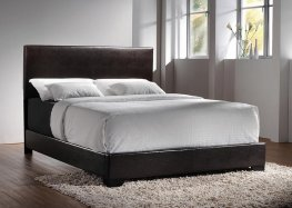 Conner Casual Dark Brown E. King Bed
