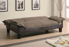 Ashington Casual Brown Sofa Bed