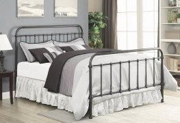 Livingston Dark Bronze E. King Bed