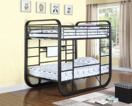 Archer Casual Chestnut Full Workstation Bunk Bed
