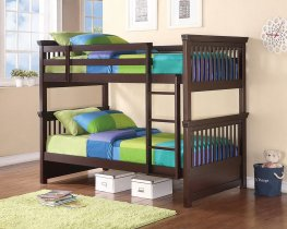 Miles Capp. Twin-over-Twin Bunk Bed
