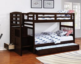 Dublin Traditional Capp. Twin-over-Twin Bunk Bed