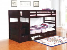 Elliott Transitional Capp. Twin-over-Twin Bunk Bed