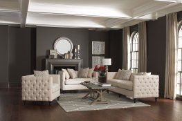 Claxton Traditional Oatmeal Tufted 2 Pc.