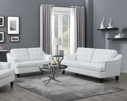 Freeport Snow White Sofa & Love