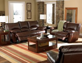 Clifford Motion Dark Brown Power Reclining 3 Pc.