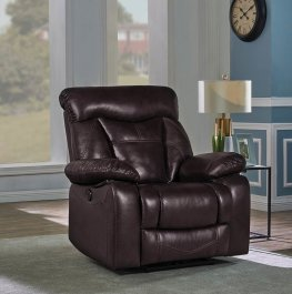 Zimmerman Brown Power Motion Recliner
