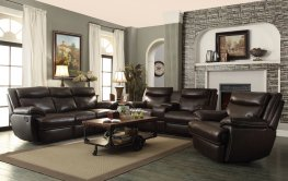 Rodman Chocolate Reclining 3 Pc.