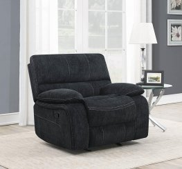 Perry Upholstered Glider Recliner
