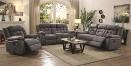 Houston Casual Stone Reclining Three-Piece