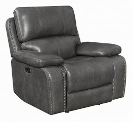 Ravenna Charcoal Power^2 Glider Recliner