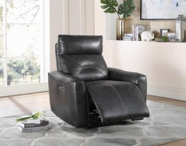 Jupiter Charcoal Power2 Recliner