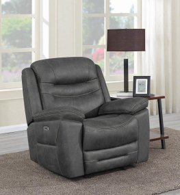 Hemer Dark Grey Power2 Glider Recliner