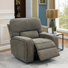 Groveland Grey Power2 Glider Recliner