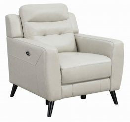 Latana Beige Power Recliner
