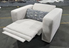 Maggie Beige Power2 Recliner