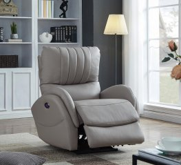 Light Grey Power3 Recliner
