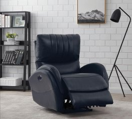 Lumbar Blue Power3 Recliner