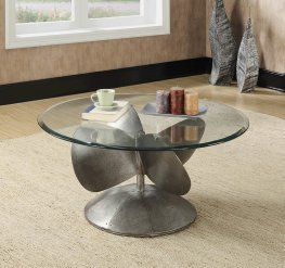 Industrial Grey Coffee Table