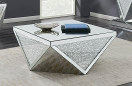 Contemporary Silver Coffee Table