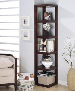 Transitional Capp. Bookcase