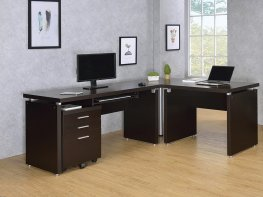 Skylar Contemporary Capp. Computer Desk