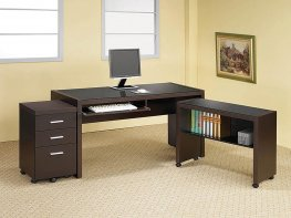 Skylar Contemporary Capp. Mobile File Cabinet