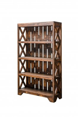 Antique Bookcase Rustic