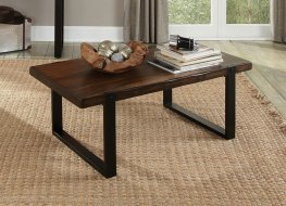 Industrial Vintage Brown Coffee Table