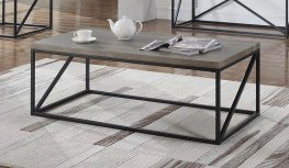 Industrial Sonoma Grey Coffee Table