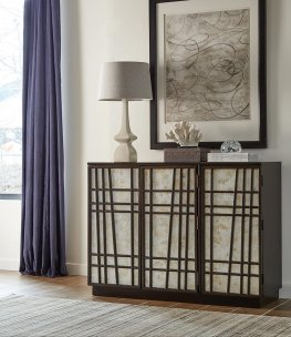 Transitional Capp. Accent Cabinet